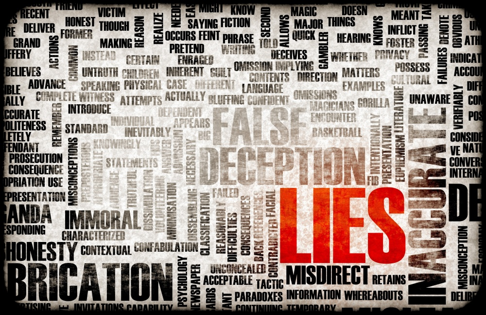 20006394 - lies and the spreading of fake information